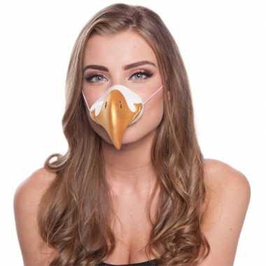 Adelaar dierenneus dieren masker voor volwassenen