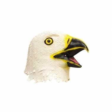 Dieren masker adelaar van latex