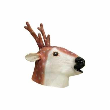 Dieren masker hert van latex