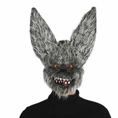 Horror konijnen dieren masker voor volwassenen