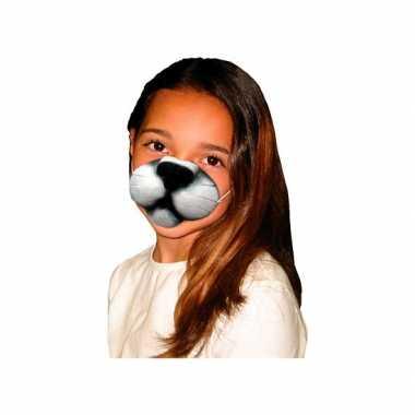 Kattenneus dieren masker voor kinderen