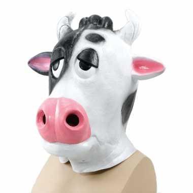 Koeien dieren masker voor volwassenen