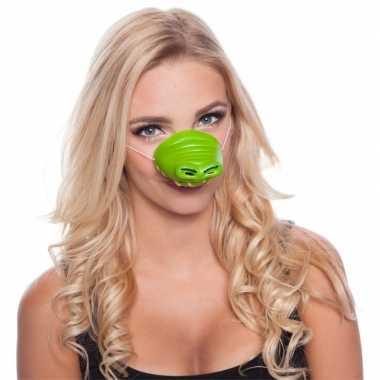 Krokodil dierenneus dieren masker voor volwassenen