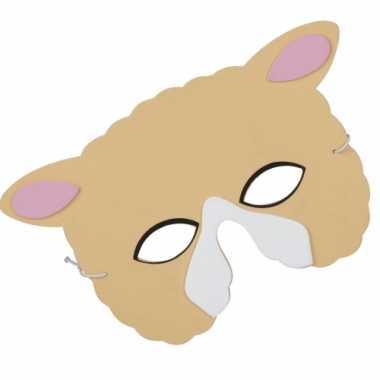 Schapen oog dieren masker van foam